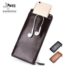 DWTS wallet male Long Card holder PU Leather mem Wallet luxu
