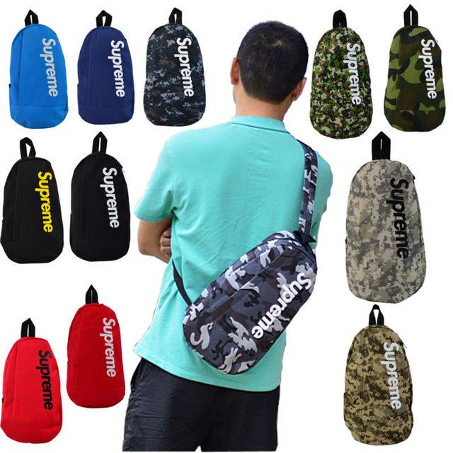 New 2017 Canvas Men Messenger Bag Mini Sport Hot Shoulder Supreme