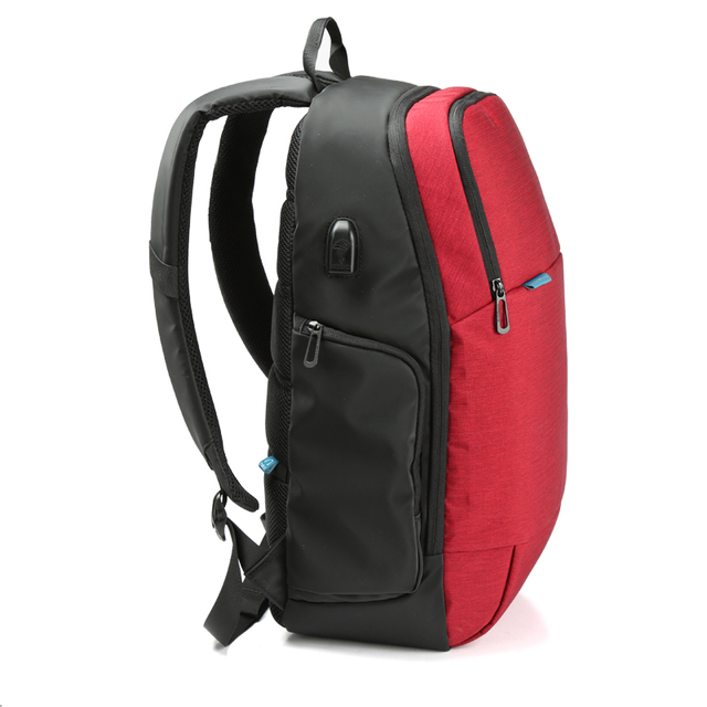Kingsons Brand External USB Charge Laptop Backpack Anti-theft Notebook Computer Bag  15.6 inch for Business Men Women