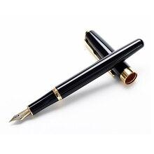 Buy Fountain pen Iraurita Golden Clip pens caneta tinteiro Baoer 388 material escolar school supplies 6298 directly from merchant!