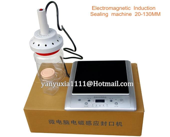 220V Big Diameter 20-130MM electromagnetics Induction bottle sealing machine,capping sealer,aluminum foil cap induction sealer  цены