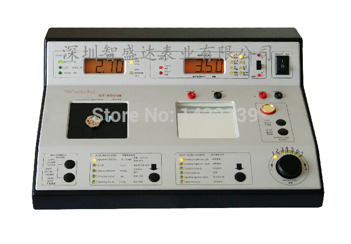 QT-8000B Quartz Watch Tester Timing Machine Timegrapher  цены