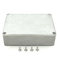 Электронный корпус проекта алюминиевый корпус литья под давлением Stompbox коробка с 4 стальными винтами 120x95x35 мм