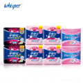 100% Cotton Sanitary Napkin Whisper Ultra Thin Pads Day Regular Flow 10pad*4pack+Night Use 6pad*2pack+Pantiliners 36pad*2 packs