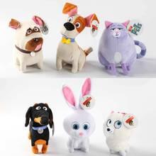 hot 1pcs New Movie The Secret Life Of Pets Plush Toys Max Snowball Gidget Mel Chloe Buddy Animals Cartoon Doll Stuffed Toys Gift