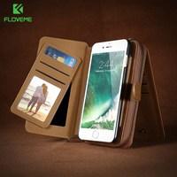 FLOVEME Caja Del Filtro Del Teléfono Para el iphone 7 6 6 S Más Bolsa de La Carpeta Para Samsung Galaxy S6 S7 S8 Plus Borde Nota 5 Casos Para Huawei Compañero 9
