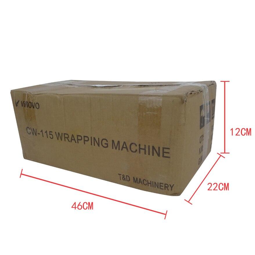 Máquina de embalaje de caja de perfume eficiente CW 115, embalaje de pañuelos - 6