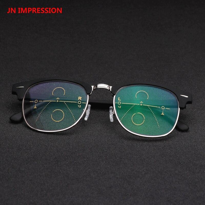 Upgraded Smart Progressive Multifocal Reading Glasses Men Women Presbyopia Near And Far Eyewear Diopters Glasses Frame 1.0-3.0