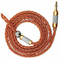 FENGRU DIY JCALLY miedzi JC16 6N OFC 16 udziałów 480 rdzenie ulepszony kabel do słuchawek dla Shure SE215 IE80 KZ ZST Pro ZSN ZS10 Pro ZSX