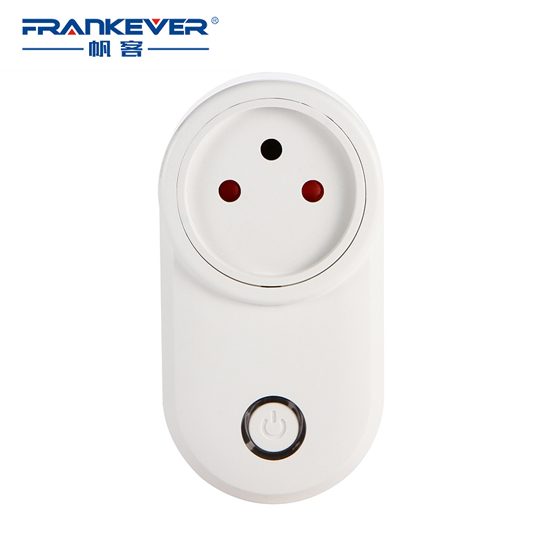 FrankEver Israel WIFI Smart Plug Smart Timing Socket Wireless Outlet Voice Intelligent Control Work with Alexa Google home frankever smart products wifi voice control discolourable bulb for bedroom club compatible with alexa google home