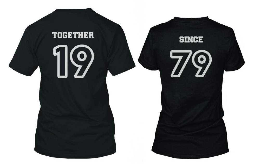 Parejas Coincidentes Camisetas de alta calidad - Compra