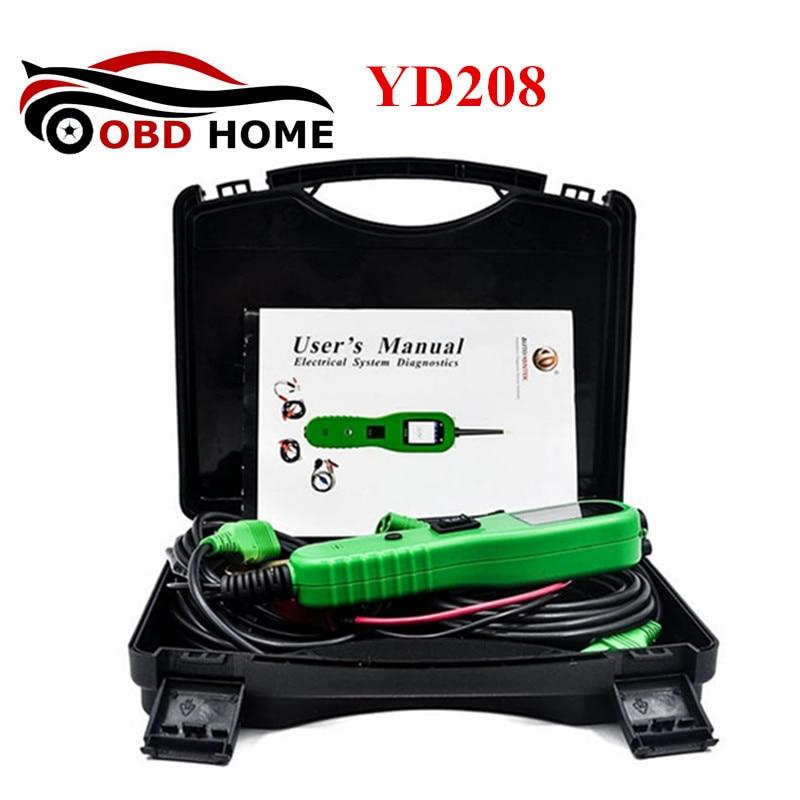 Nouveauté Yantek YD208 testeur de Circuit électrique système électrique outil de Diagnostic au lieu de PowerScan PS100