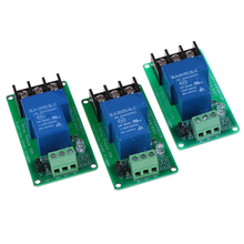 1 Channel Relay Module 30A With Optocoupler Isolation 5V 12V  24V Supports High And Low Triger Trigger стоимость