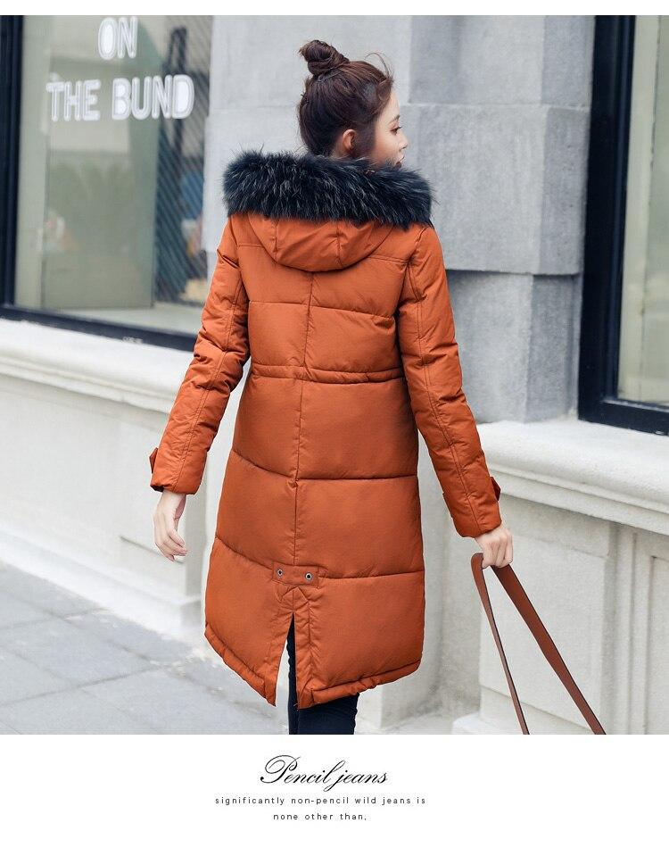 Mode blue Épais 2018 Parka gray Rembourré Coton Plus Femelle orange En Capuchon Hiver La Red Taille Femmes Manteau À Veste Black 3xl Chaud H742 armygreen M Sq04naY