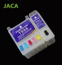 Совместимость многоразового картриджа T007 T008 для Epson Stylus Photo 780/785/785EPX/790/870/ 875/890/895/900/915/1270/1280/1290