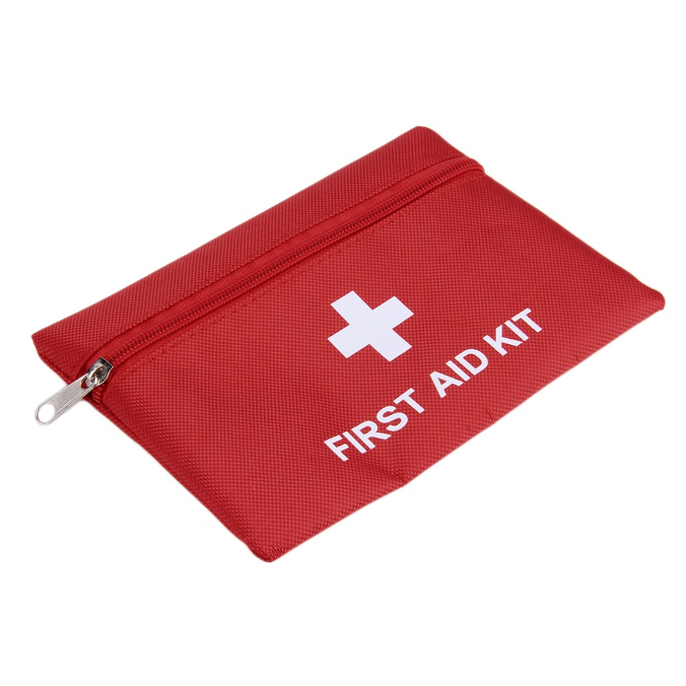 Top 1.4L Portable Emergency First Aid Kit Pouch Bag Travel Sport Rescue Medical Treatment Outdoor Hunting Camping First Aid Kit