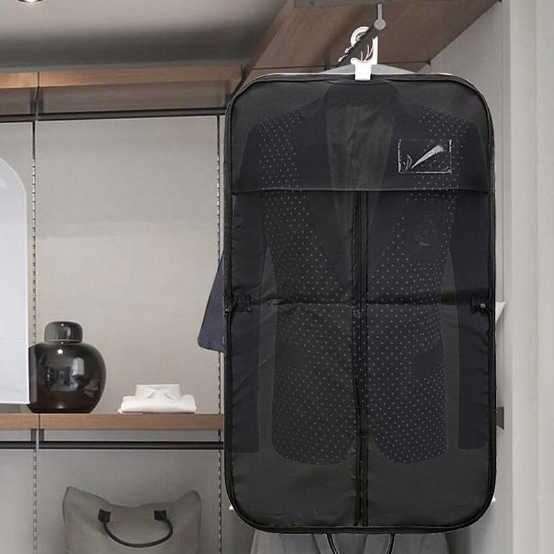 BAKINGCHEF Travel Suit Storage Bag Business Men Clothes Garment Coat Cover Clothing Dustproof Organizer Accessories Supplies Lot