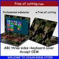 Подлинная Красочные Наклейки Ноутбук Случае Компьютер Скины Ноутбук Наклейки Защитная Наклейка Для Acer V5 V531 V551 V571 15.6 Крышка