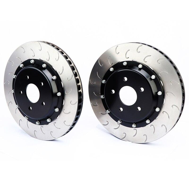 Disque de frein DICASE de bonne performance de pièce de frein automatique pour l'étrier de frein rouge à Six pistons CP9665 adapté pour Mclaren 570 S 2009 an