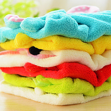 Towel Kitchen Soft Velvet Towels Cartoon Eco Friendly