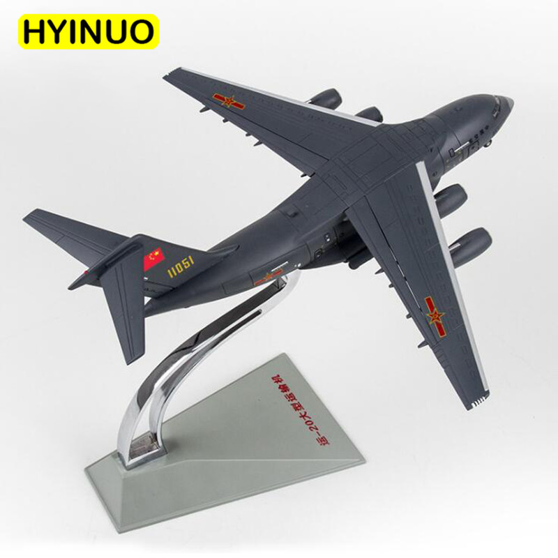 1/144 scale China Y-20 Transport machine aircraft Navy Army fighter airplane models adult children toys military for collection