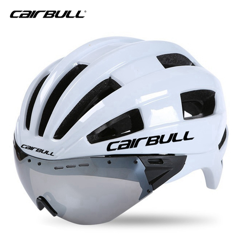 Bicycle Cycling Helmets Casco Ciclismo Casque Velo Ultralight Integrally-molded MTB Bike Helmets Magnetic Goggles Cycling Helmet 2018 evade ii cycling helmet red road bike helmet mtb special bicycle radar rudis tld red mojito ciclismo protone casque velo c
