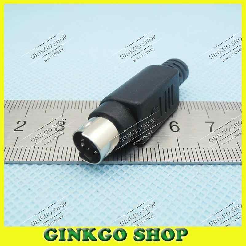 20 ensembles/lot 4 P/5 P/6 P/8 P Core souris Jack type à souder bricolage accessoires pour PS2 clavier/souris ect livraison gratuite