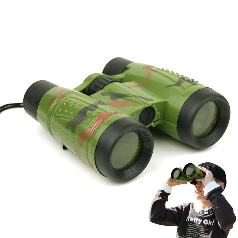 Binoculares Mini camuflaje telescopio tecnología equipo militar modelo conjunto juguetes educativos de aprendizaje regalos para niños niño