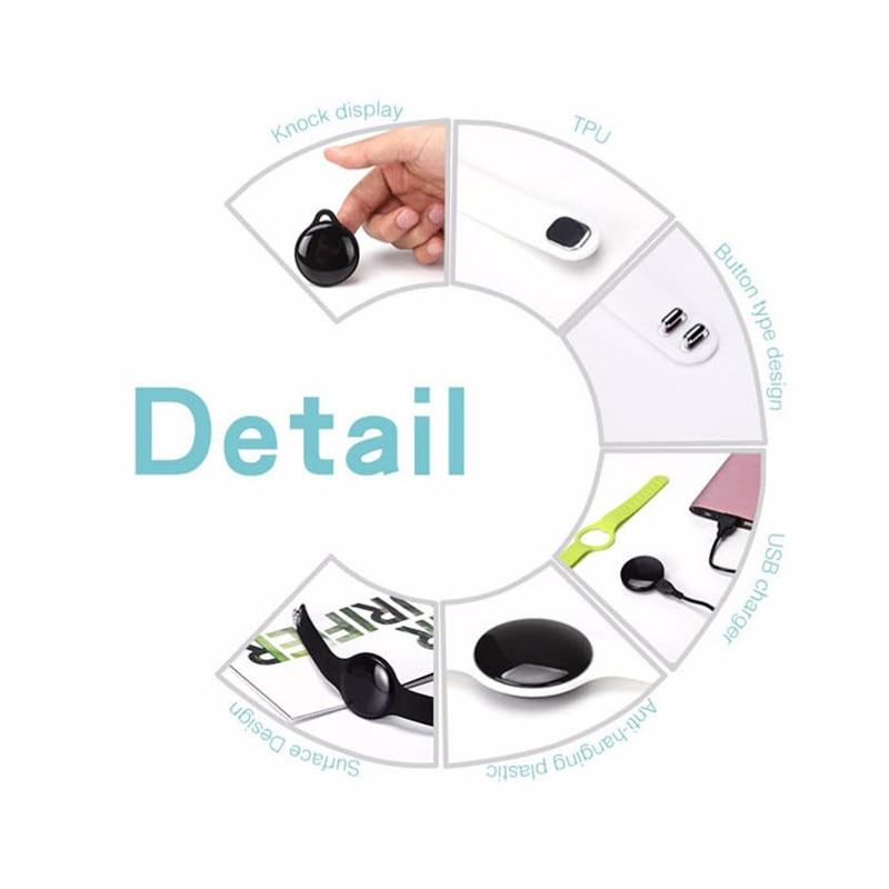 Image 5 - Jqaiq модный умный Браслет для фитнеса браслет отслеживания активности Шагомер OLED с Bluetooth умный Браслет для Android Ios смартфон-in Смарт-браслеты from Бытовая электроника