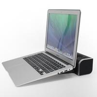 USB Cooling Fan Laptop Cooler Pad Stand Fan Notebook Computer Phone Cooler Horizontal Axis Fan Bracket