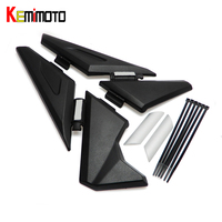 KEMiMOTO R1200GS LC Adventure Motorcycle Upper Frame Infill Side Panel Set Guard Protector For BMW R1200