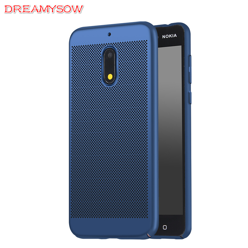 Case For Nokia 6 2018 7Plus 3 5 8 2 7 9 1 Heat Dissipation Cooling Housing Honeycomb Back Cover Sirocco Accessories Cover
