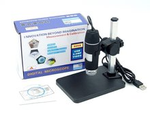 On sale New 500X 2MP USB 8 LED Digital Microscope Endoscope Magnifier Camera 30fps +Lift Stand+Calibration Ruler