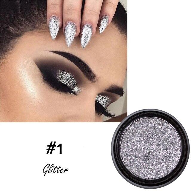 Fard à paupières diamant paillettes crème longue durée imperméable brillant ombre à paupières beauté