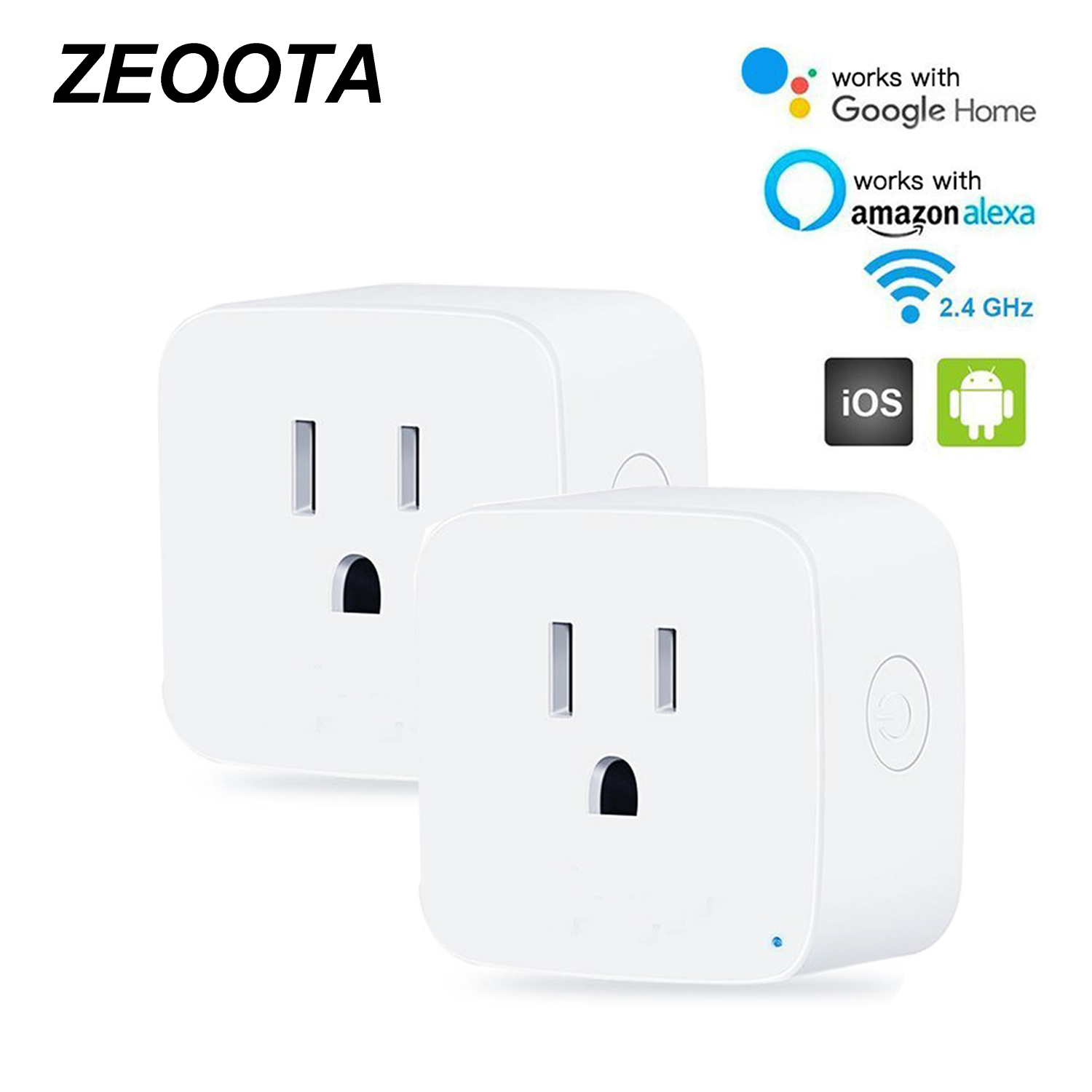 Wifi Smart Electric Power Plug Us Outlets Socket Adapter