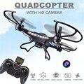 Drones Rc Com Câmera Hd Jjrc H8c Voando Câmera Helicóptero do Controle de Rádio Rc Quadcopter Drones Profissionais Drones Controle Remoto