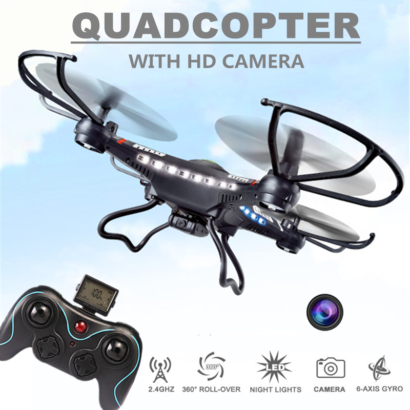 ФОТО Rc Drones With Camera Hd Jjrc H8c Flying Camera Helicopter Radio Control Rc Quadcopter Professional Drones Remote Control Drones