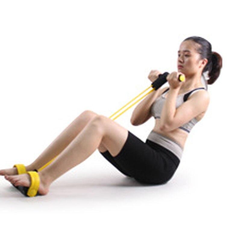2 Elastik Band Fitness Equipment Çəkmə İpləri Tic Ayaq Yoga - Fitness və bodibildinq - Fotoqrafiya 5