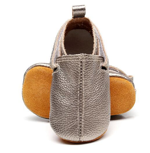 2019  customs new hot sell baby moccasins genuine leather handmade baby girls boys shoes first walkers fashion baby shoes 3