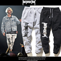 2016 Fear Of God Justin Bieber Purpose Tour Pants Men Women High Quality Cotton Hip Hop Fleece Trousers Casual Jogger Sweatpants