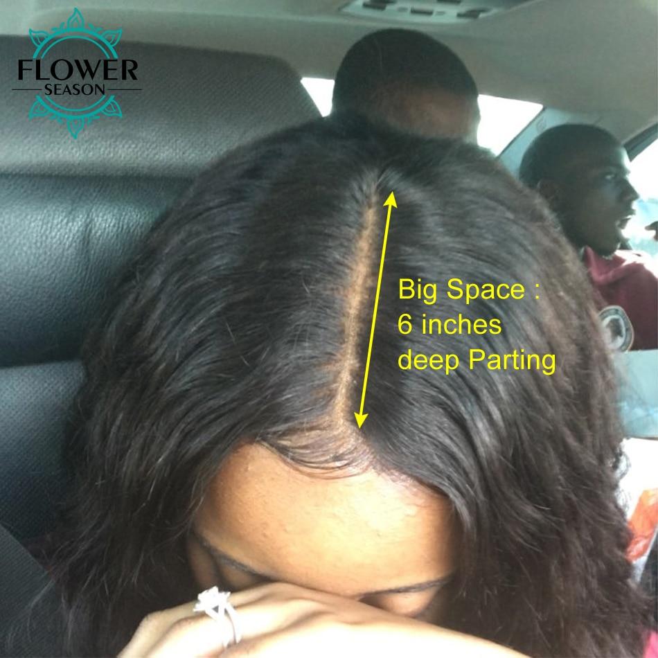 [Oulaer] Kinky Krullend Pruiken Voor Zwarte Vrouwen Natuurlijke Kleur - Mensenhaar (voor zwart) - Foto 5