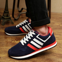 2016 New men's breathable casual shoes men's spring autumn brand casual shoes no logo size 39-44 three colors free shipping