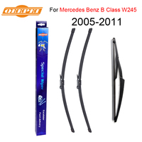 QEEPEI Front And Rear Wiper Blade No Arm For Mercedes Benz B Class W245 2005 2011