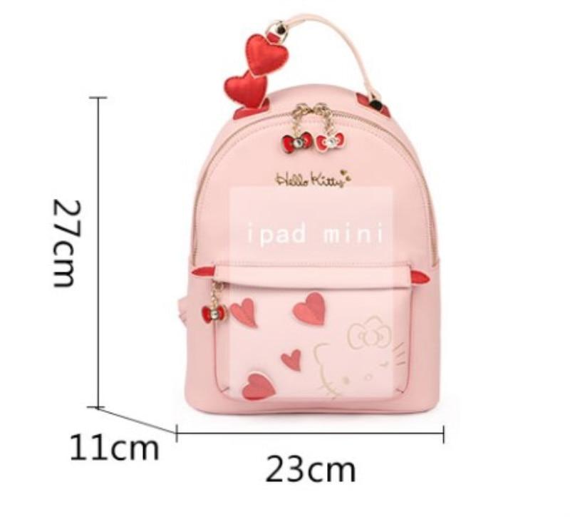 6befd7fcb New Women Girl Hello Kitty Backpack Bag Shoulder Bag Purse YEY 2288P ...