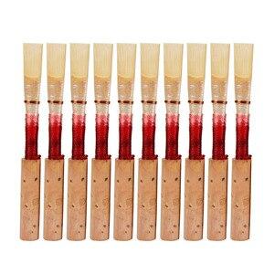 Image 1 - Pièce dinstrument de vent de roseau de hautbois naturel de qualité supérieure construite à la main rouge/noir choisir
