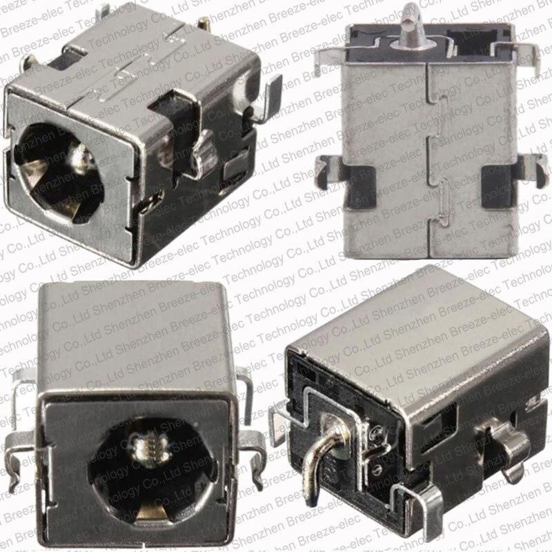 1~100 pieces/lot 2.5MM 100% NEW DC power jack For ASUS K53 K53S K53E K53S K53SV A53Z A53S K53SJ K53SK port Socket Connector PLUG dc power jack connector for dell inspiron 15 5565 5567 dc jack charge port socket