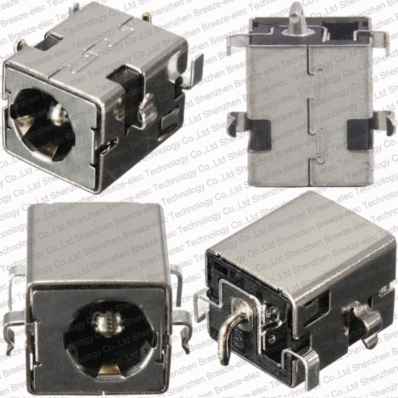 1 piece~50pieces 2.5MM 100% NEW DC power jack For ASUS K53 K53S K53E K53S K53SV A53Z A53S K53SJ K53SK port Socket Connector PLUG 1pcs dc power jack socket plug connector port for asus k53e k53s mother board new arrival wholesale