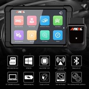 Image 5 - OBD OBD2 السيارات الماسح الضوئي Ancel X5 زائد واي فاي جهاز لوحي سيارة أداة تشخيص وسادة هوائية DPF EPB ABS إعادة تعيين النظام الكامل التشخيص