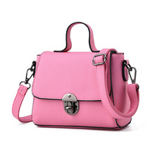 New Arrivals Women's Bags Concise Leisure Fashion Occident Style Crossbody Bag Solid Color Pink Wine Red Purple Black Grey Totes