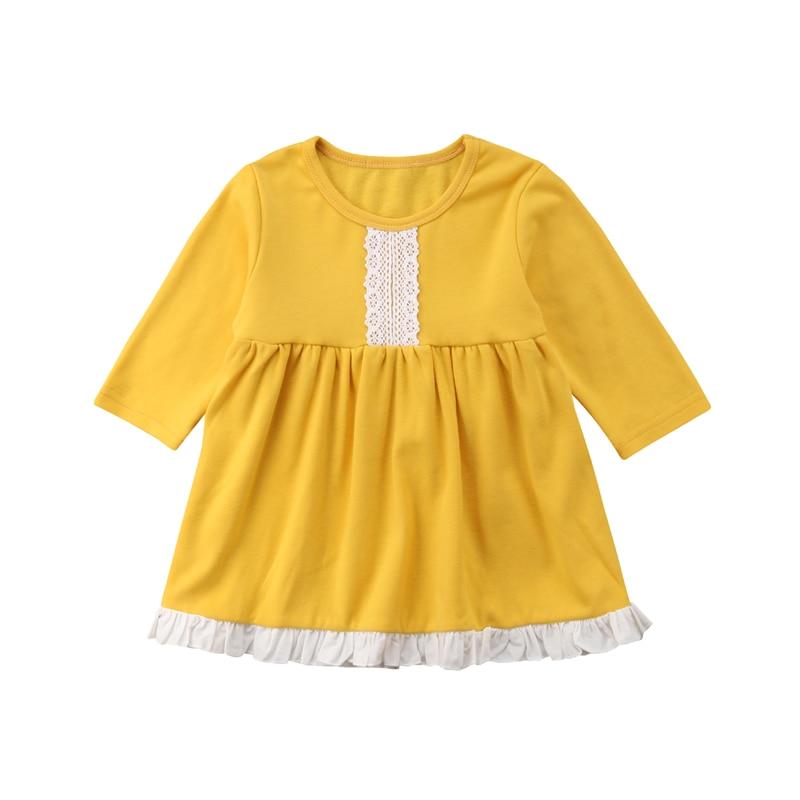 5f5c283b1cd 2018 Фирменная Новинка для новорожденных Одежда для детей  малышей  девочек  с длинным рукавом праздничное